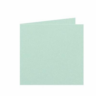 22 Dubbele kaart 15x15 CM Roma Lentegroen per stuk