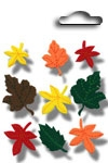 Accents 3D stickers fall