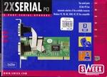 PCI kaart 2 x serieel