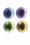 Rhinestones rond 10mm 40 licht assortiment