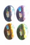 Rhinestones ovaal 10x14 mm 20x licht assortiment
