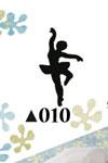 Picture Punch Medium Ballerina
