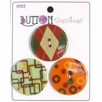 Button Sensations 3x Spice 3,4 cm