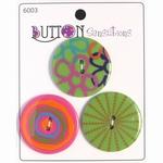 Button Sensations 3x Brights 3,4 cm