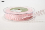 PINK Sheer / Daisy Edge 19mm