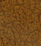 Teddypluche gekruld katoen, 100 x 140 cm, bruin