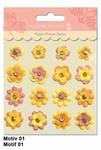 URSUS Paper Flower Brads, Motief 01