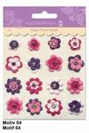 URSUS Paper Flower Brads, Motief 04
