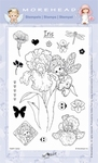 Clearstamp Morehead,  Fairy Iris, 10x15 cm