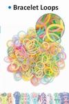 Bracelet loops x300 + S-clips x12 gio - dark