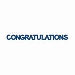 Tattered Lace Mini Congratulations (DX24)
