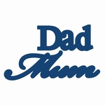 Tattered Lace Mum Dad (ACD092)