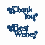 Tattered Lace Tattered Lace 'Best Wishes' And 'Thank You' Di