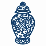 Tattered Lace Oriental Jar (ACD139)
