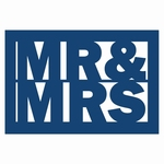 Tattered Lace Mr & Mrs Plaque (ACD085)