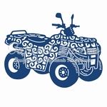 Tattered Lace Quad Bike (ACD792)