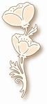 Specialty die - Dancing Poppies