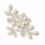 Specialty die - Poinsettia Corner