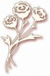 Specialty die - Rose Bunch